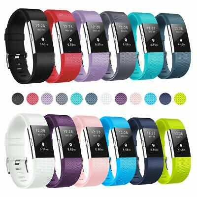 2X For Fitbit Charge 2 Wrist Straps Wristband Replacement Accessory Watch Band