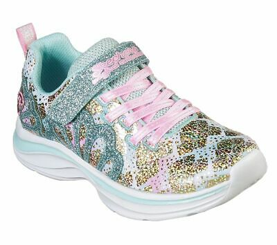 Skechers Girls DOUBLE DREAMS MERMAID MUSE Sneakers Kinder Schuhe Blau