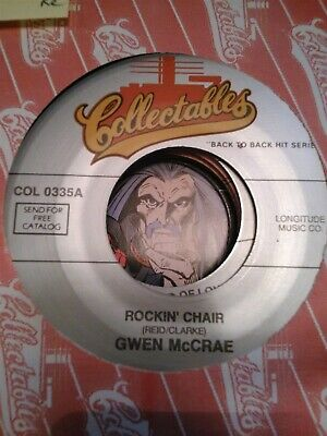 Gwen McCrae Rockinu0027 Chair / Love Insurance ~ NM Collectables 45 +sleeve & GWEN MCCRAE-ROCKIN CHAIR-LOVE Insurance Unplayed 45 rpm - $9.99 ...