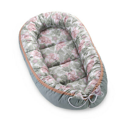 Baby Nest Cocoon Pod Baby Sleep Bed Infant Pillow Blanket Swaddle Wrap Floral