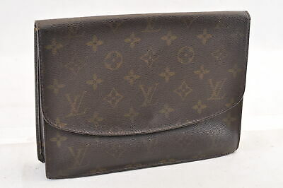 1a7f80d59044 LOUIS VUITTON Monogram Pochette Rabat 23 Clutch Bag M51931 LV Auth sa1506