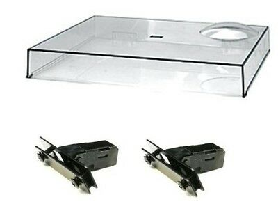 Technics 1210 1200 dust cover, comes with free hinges! New original part