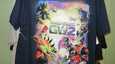 Mens NEW Plants vs. Zombies Garden Warfare 2 T-Shirt Size Large