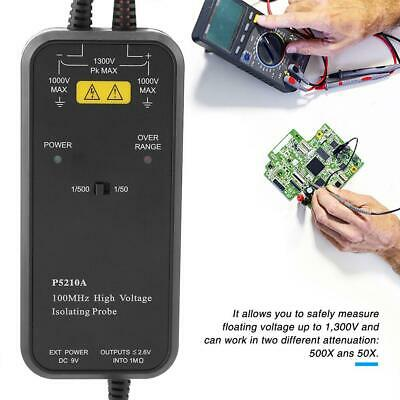 IVYTECH P5205A / P5210A 50MHz/100MHz 1300V High Voltage Differential Probe WYD
