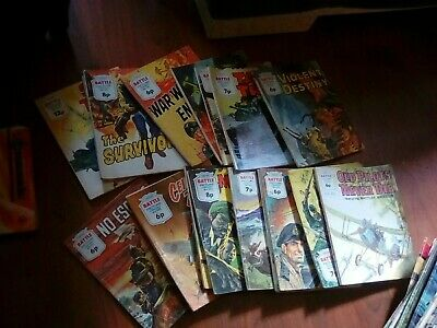 Battle Picture Library x17 Issues  Comics lot