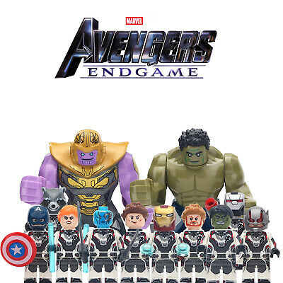 Marvel Avengers The End Game - New Lego Moc Minifigure Kids Collection