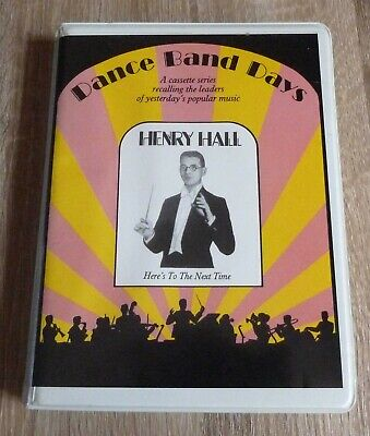 HENRY HALL BBC Dance Band Orchestra 1930s 2 x Audio Cassette Box Set TESTED RARE