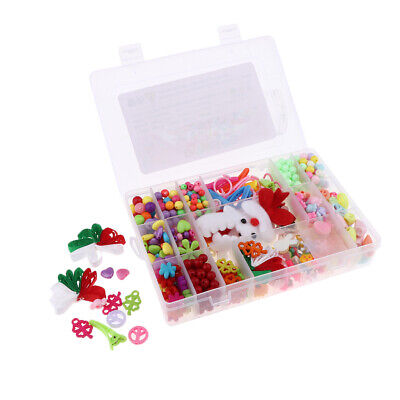 Colorful Acrylic Beads Girls Gift for Bracelets Necklaces DIY Making
