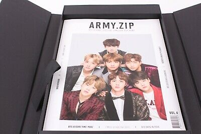 BTS 4th Army  Global Official Fanclub Membership Kit Unsealed box Tracking No