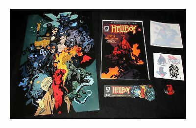 Hellboy Day 2019 Seed of Destruction 25th Anniversary Bundle (Dark Horse) New!