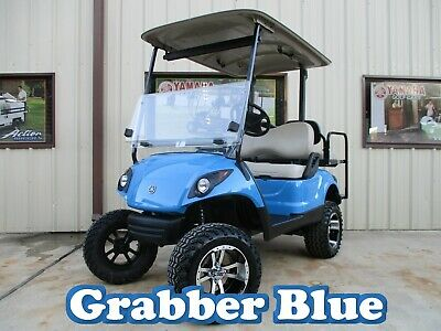 Sale 2015 Custom Yamaha Drive Efi Gas Golf Cart 4 Seater Ezgo