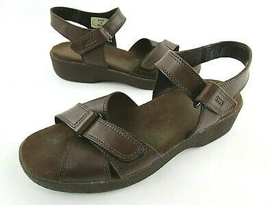 ECCO WOMENS SANDALS Ankle Strap Soft Size 39 US 8 8.5