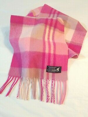 e86999d11577d THE ROYAL MILE House Of Edinburgh 100% Cashmere Scarf Pink 15 ...