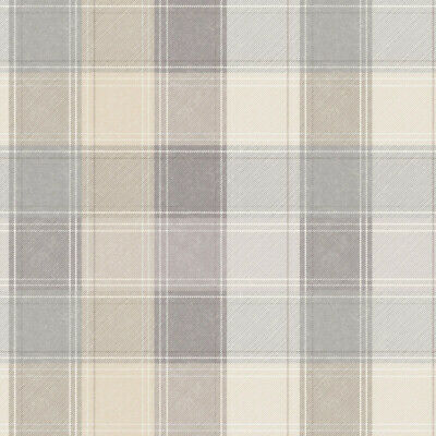 Arthouse Country Check 901902 Grey Feature Wallpaper