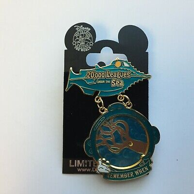 WDW White Glove - Remember When - 20,000 Leagues Under the Sea Disney Pin 50197