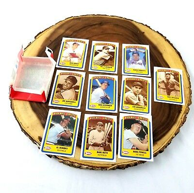 1990 Swell Baseball Greats All Time Legends 10 Collectable Cards #10 Babe Ruth