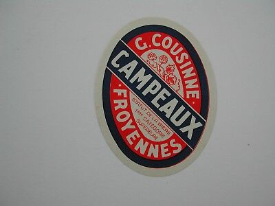 Beerlabel Campeaux Cousinne Froyennes *29