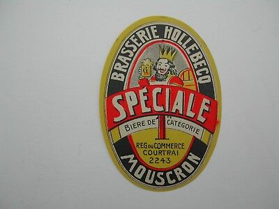 Beerlabel Speciale Br Hollebecq Mouscron *15