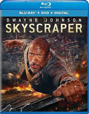 Skyscraper Blu Ray Dvd 2 Disc Combo Set With Digital Uv Download Dwyane Johnson
