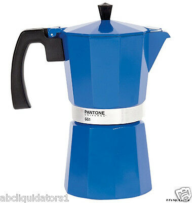 NEW! PANTONE UNIVERSE 9 Cup Coffee Pot Maker (661) Midnight Blue