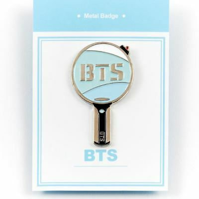 "KPOP BTS Official Metal Badge Army Bomb 2 ""2.5cm x 4cm"" Free Shipping"
