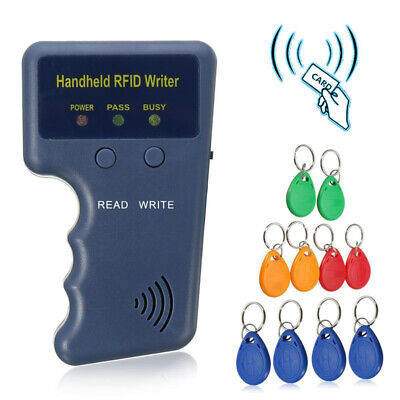 Hand-held 125KHz RFID Copier/Writer/Readers/Duplicator + 10pcs EM4305 ID Cards