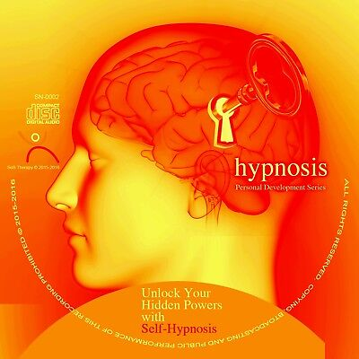POSITIVE THINKING GUIDED SELF HYPNOSIS PROGRAMME:  personal development, new CD