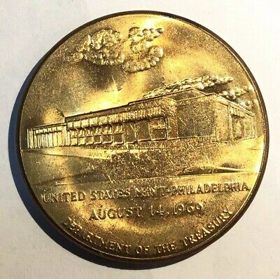 United States Mint Philadelphia Medal 1969