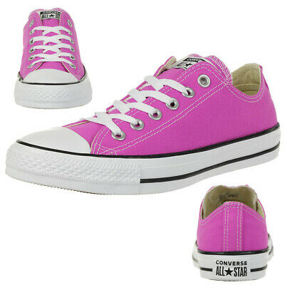 Baskets Converse Chuck Taylor All Star OX Fushia RougeViolet