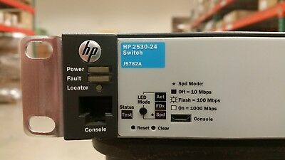 J9782A I FACTORY Sealed RENEW HP 2530-24 Ethernet Switch