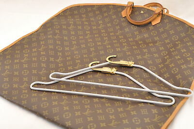 LOUIS VUITTON Monogram Garment Cover Housse Porte Habits M23432 Auth sa1273
