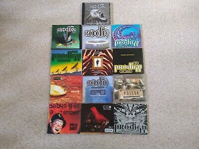 The Prodigy cd bundle / joblot (12 singles & 1 album)