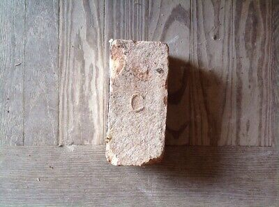 Antique Brick Stamped With The Letter  ***** C ******