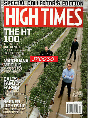 High Times June 2019, THE HT 100, Special Collector's Edition, Factory Sealed