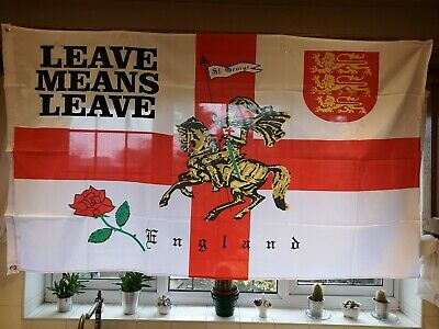St.George Leave Means Leave Flag