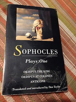 SOPHOCLES The Theban Plays Methuen World Classics By Don Taylor Antigone Oedipus