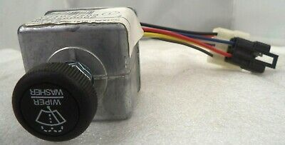 Cole-Hersee Windshield Wiper 24V Rotary Controller Switch, p/n 75602-02