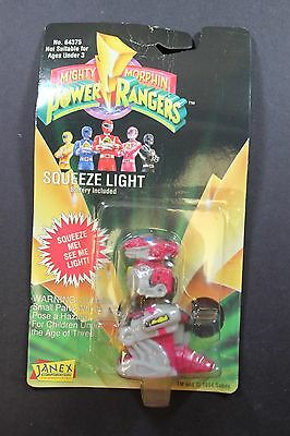 Janex Mighty Morphin Power Rangers Squeeze Light Ranger Dino New in Box 1994