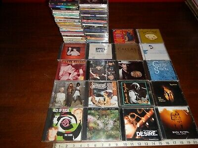 LOT OF 15 CDs ~ Various Top 40 Artists 1990s 2000s Music CDs