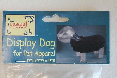 """Casual Canine Inflatable Display Dog 4 Pet Apparel 17"""" x 17"""" x 13"""" Mannequin New"""