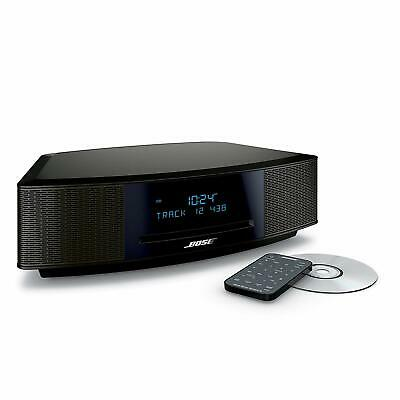 New Bose Wave Music System IV with Remote, CD Player  AM/FM Radio Espresso Black
