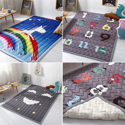 194x145CM Extra Thick Large Baby Kids Game Gym Activity Rectangle Play Floor Mat