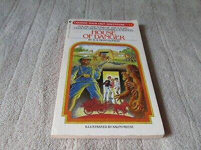 Vintage House of Danger (Choose Your Own Adventure #15) by R. A. Montgomery