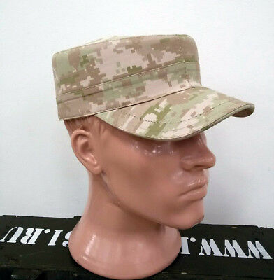Russian Military Army Digital Desert Camouflage BDU Cap. The Syrian option!