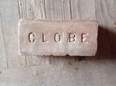 Antique Brick Stamped ***** Globe   *******