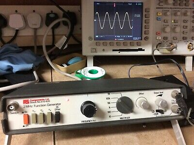 Function generator. Used. 2MHz. RS Components
