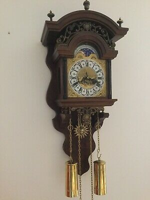 Dutch Wall Clock. New Old Stock.