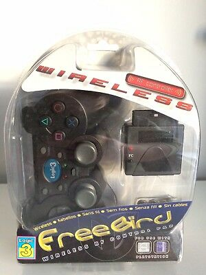 Logic 3 Freebird Wireless Controller for Sony PlayStation PS2 PS1 New Sealed
