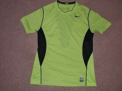 1743cced55a1 Mens Sz Medium M Nike Pro Combat Dri Fit Fitted Hypercool Training T-Shirt  Top