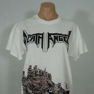 DEATH ANGEL The Ultra Violence White T-Shirt size S (NEW)